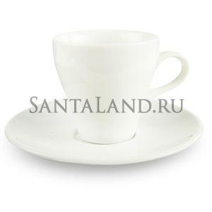 "Кофейная пара ""Лайт"" 80 мл (Фарфор)"