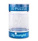 3D Головоломка Панда прозрачная
