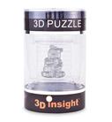 3D Головоломка Панда серебро