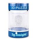 3D Головоломка Череп прозрачный