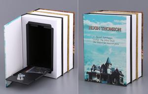 Стальной ящик для хранения с замком