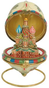 Яйцо шкатулка Храм Василия Блаженного