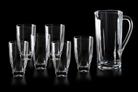 """Набор для сока """"диаманте"""" 7 предметов: дметов: етов: кувшин и 6 стаканов"""