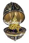 Елка Открывающееся яйцо-шкатулка
