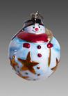 Снеговик пузырь красный шарф