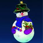 Снеговик-джентльмен