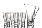 """Набор для сока 7 предметов: """"Аполло"""" графин и 6 стаканов"""