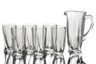 "Набор для сока 7 предметов: ""Квадро"" кувшин и 6 стаканов"
