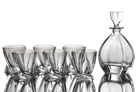 "Набор для виски 7 предметов: ""Лагуна"" штоф и 6 стаканов"