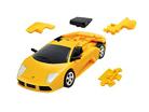 3D пазл Lamborgini матовый желтый