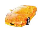 3D модель-пазл Lamborgini полупрозрачный желтый