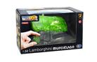 3D модель-пазл Lamborgini полупрозрачный зеленый