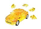 3D пазл Mini Cooper полупрозрачный желтый