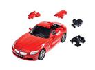 3D пазл BMW Z4 матовый красный