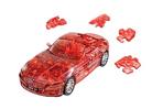 3D пазл BMW Z4 полупрозрачный красный