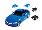 3D пазл BMW Z4 матовый синий