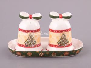 "Набор Для Специй ""Christmas Collection"" 3 Пр."