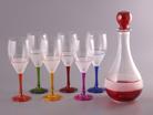 Набор 7 предметов: графин и 6 бокалов