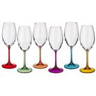 "Набор бокалов для вина из 6 шт. ""Барбара декорейшн"" 300 мл."