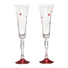 """Набор бокалов для шампанского из 2 шт. """"Виктория love"""""""