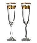 """Набор бокалов для шампанского из 2 шт. """"Анжела love"""""""