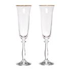 """Набор бокалов для шампанского из 2 шт. """"Анжела"""""""