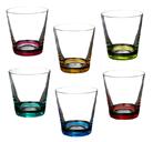 """Набор стаканов для виски из 6 шт. """"Джайв пэйнтед"""""""
