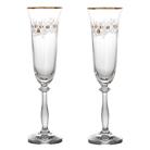 """Набор бокалов для шампанского из 2 шт. """"Рождественский"""""""