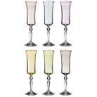 """Набор бокалов для шампанского из 6 шт. """"Грейс микс"""" 190 мл."""