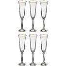 """Набор бокалов для шампанского из 6 шт. """"Анжела"""" 190 мл."""