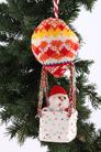 "Изделие Декоративное "" Дед Мороз На Шаре"" Ручная Работа, Акрил Без Упаковки"