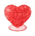 3D головоломка Сердце красное