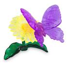 3D головоломка Бабочка фиолетовая