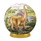 Шаровой Пазл Динозавры (60 деталей,7,6 см)