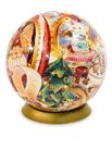 Шаровый пазл Мастерская Деда мороза (540 деталей, 23 см)