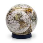 Шаровый пазл Старинная карта мира 60 деталей, 7,6 см