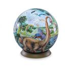 Шаровый пазл Динозавры 540 деталей, 23 см
