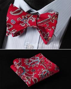 """Комплект """"Кариба"""": платок и бабочка"""