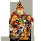 Санта с детьми