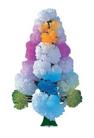 Волшебные кристаллы Чудесная ёлочка разноцветная