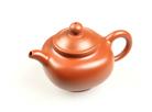 """Чайник из исинской глины """"Красный лотос"""" 250 мл."""