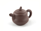"""Чайник из исинской глины """"Тыква"""" 200 мл."""