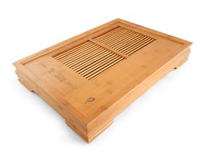 """Чайный поднос """"Бамбук"""" 47.6x33.5x7 см"""