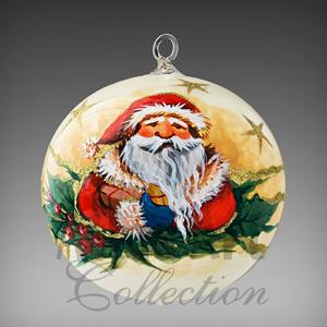 "Шар ""Санта с колокольчиком"""