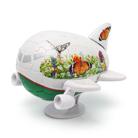 3D Пазл Самолетик Бабочки 40 деталей, 11,5 см