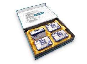 """Чай в подарочной коробке на 4 банки """"Пейзаж"""""""