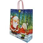 Подарочный пакет «Дед мороз и снегурочка», 36*12*41 см