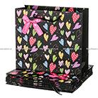 Подарочный пакет «Сердечки» 30,5*26,5*12