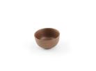 """Пиала из исинской глины коричневая 40 мл """"Закат"""""""