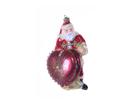 Санта с сердцем музыкальная шкатулка сувенир